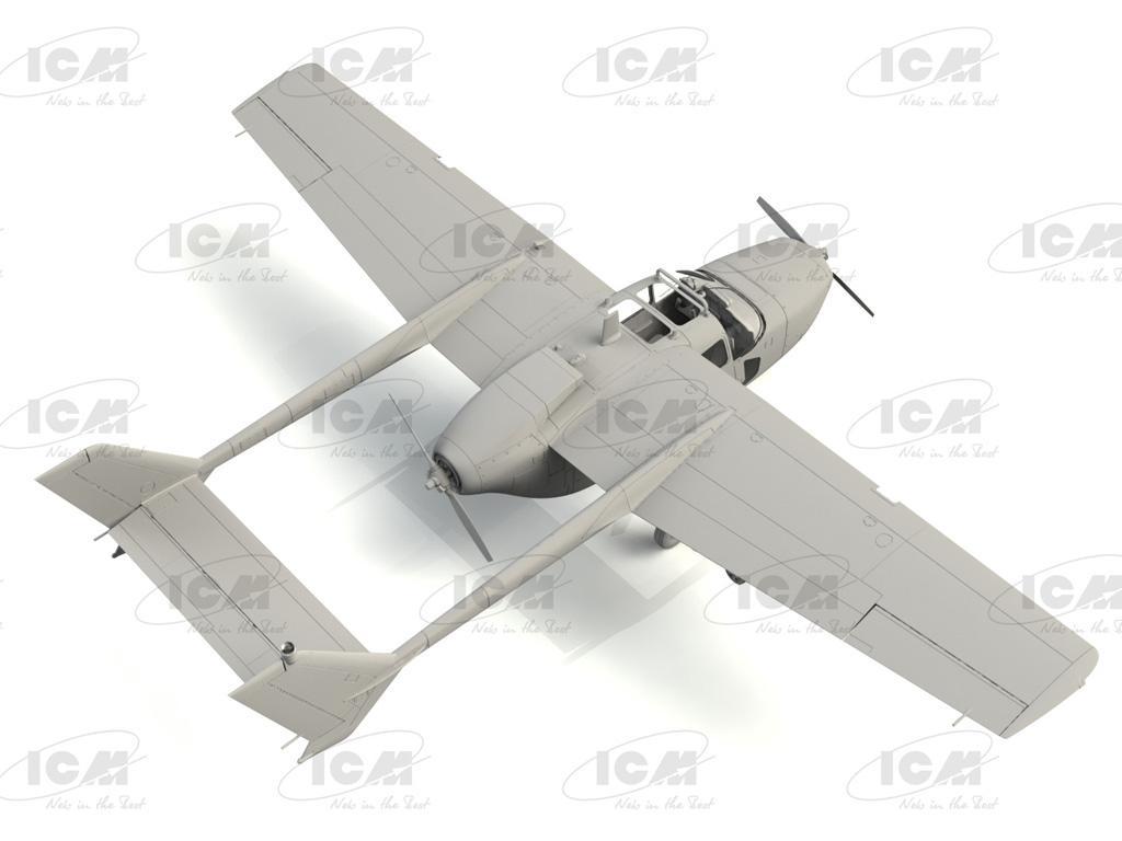 Cessna O-2A Skymaster, American Reconnaissance Aircraft (Vista 4)