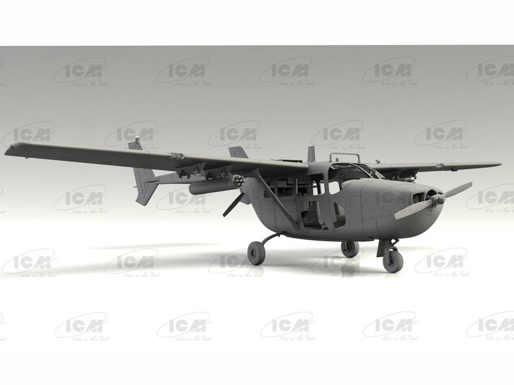 Cessna O-2A Skymaster, American Reconnaissance Aircraft (Vista 5)