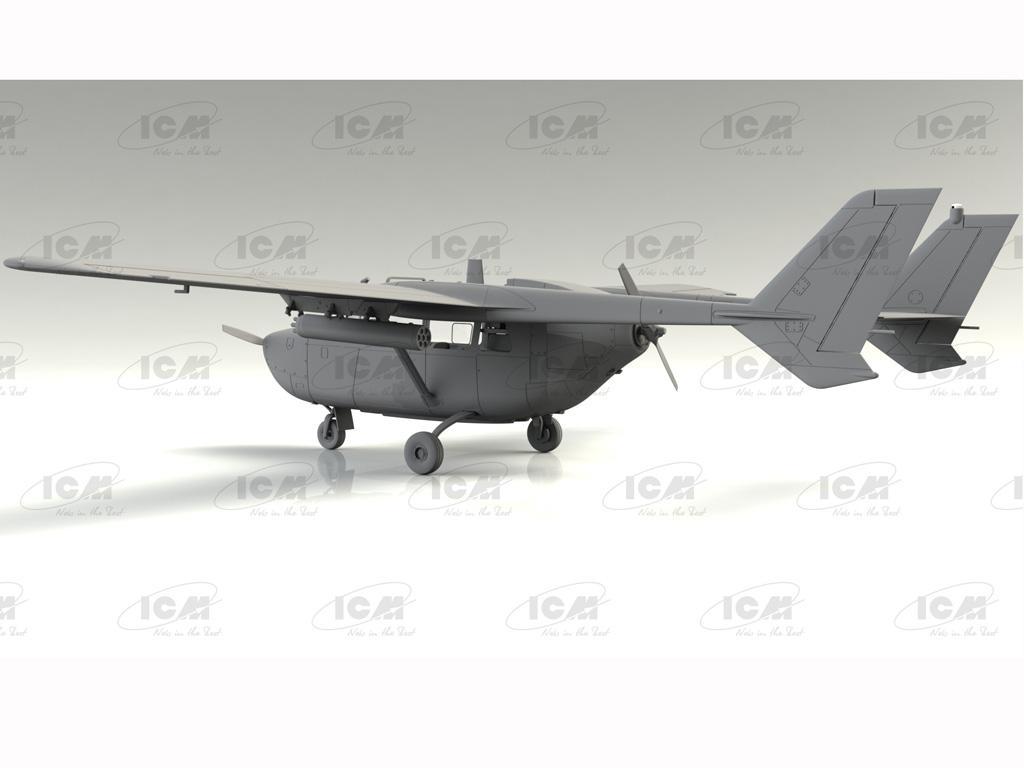 Cessna O-2A Skymaster, American Reconnaissance Aircraft (Vista 6)