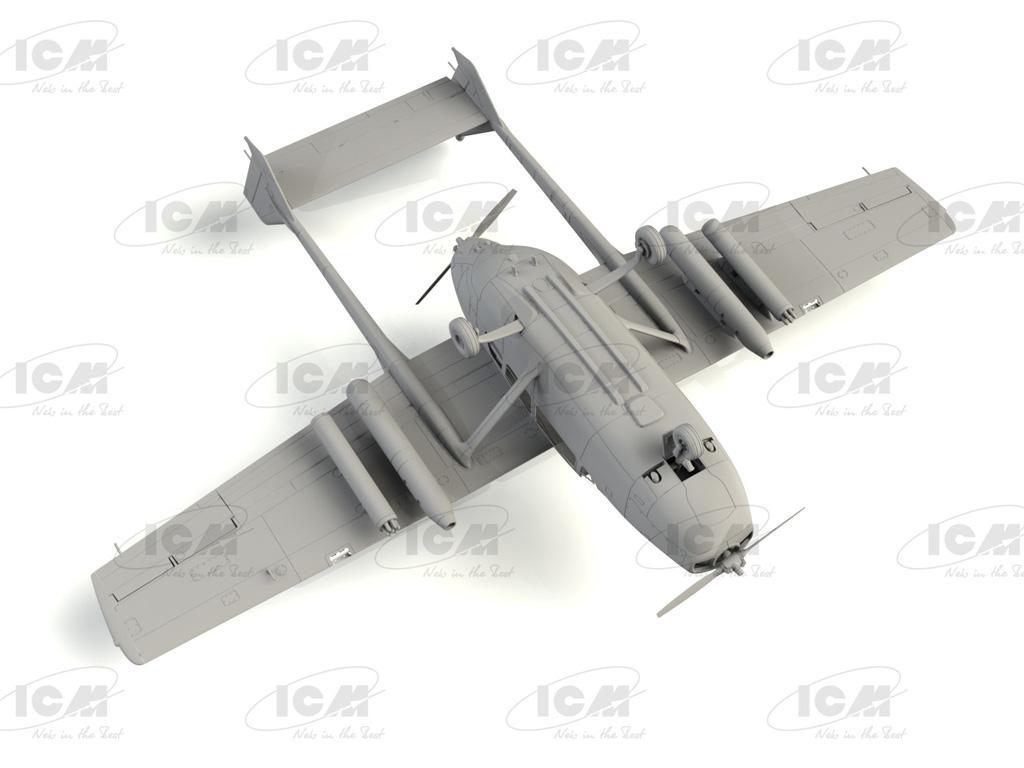 Cessna O-2A Skymaster, American Reconnaissance Aircraft (Vista 7)