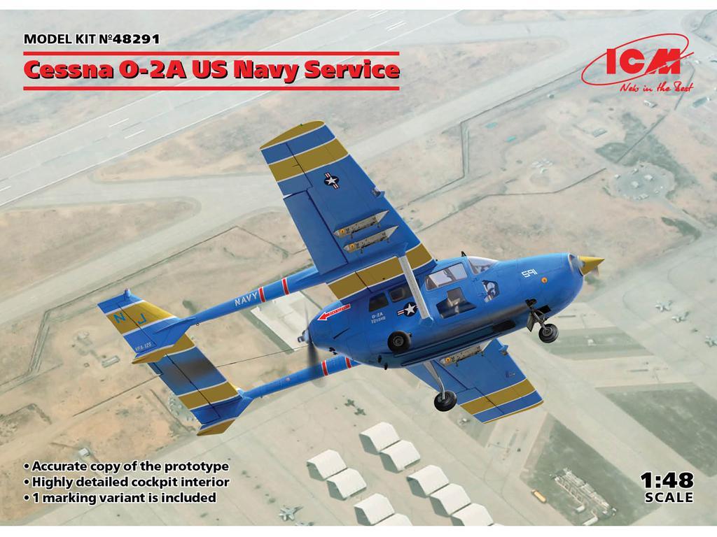 Cessna O-2A US Navy Service (Vista 1)