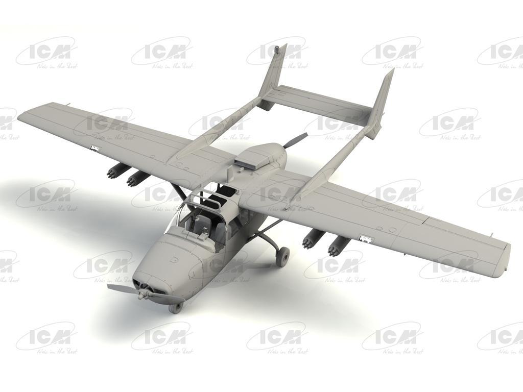 Cessna O-2A US Navy Service (Vista 3)