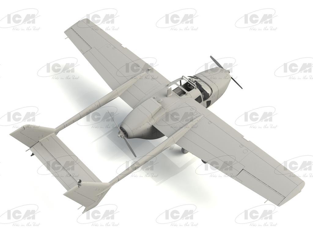 Cessna O-2A US Navy Service (Vista 4)
