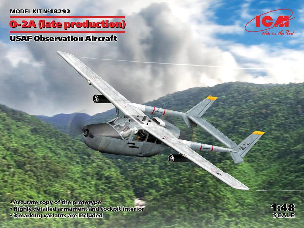 O-2A (última producción), avión de observación de la USAF (Vista 1)