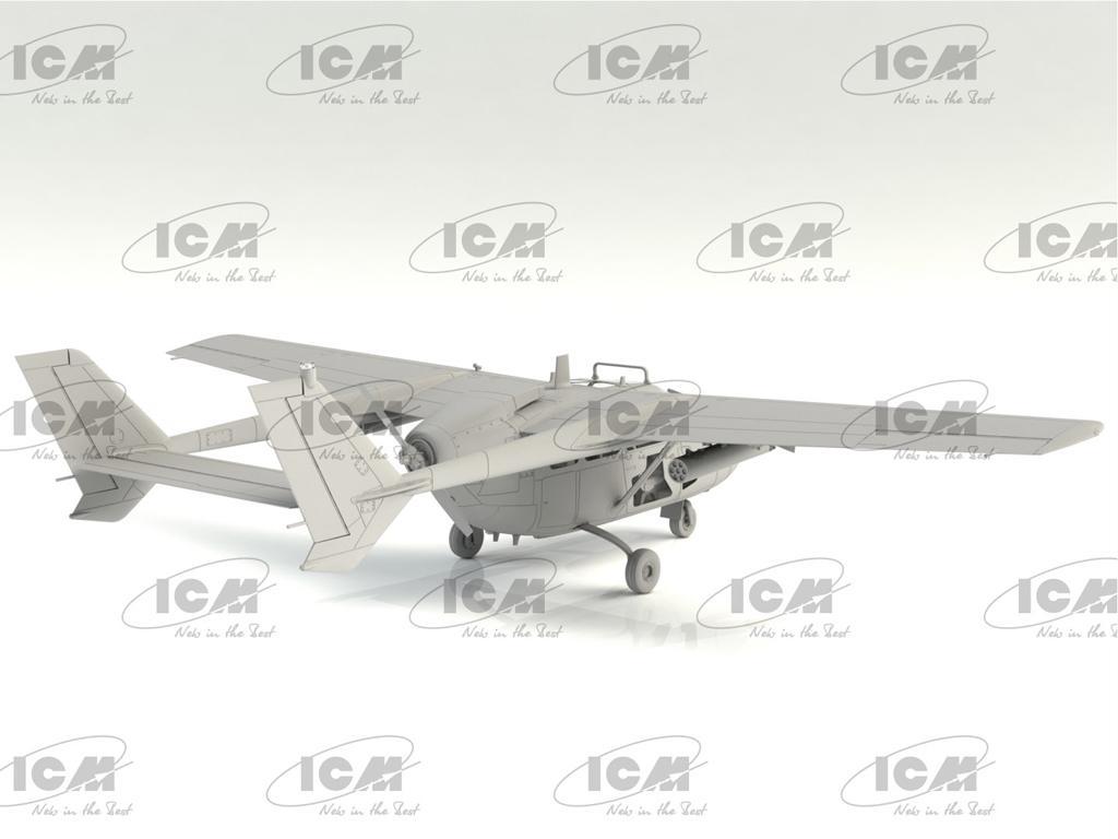 O-2A (última producción), avión de observación de la USAF (Vista 4)