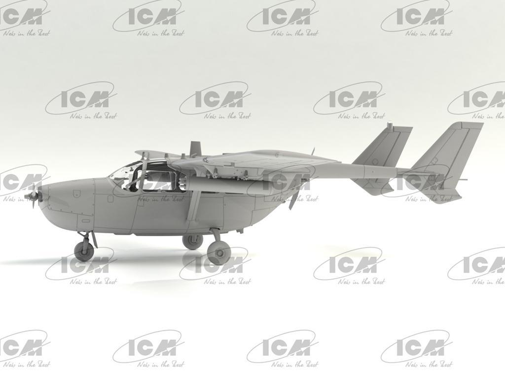 O-2A (última producción), avión de observación de la USAF (Vista 5)