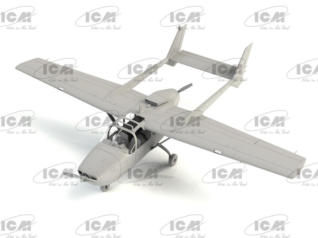 O-2A (última producción), avión de observación de la USAF (Vista 6)