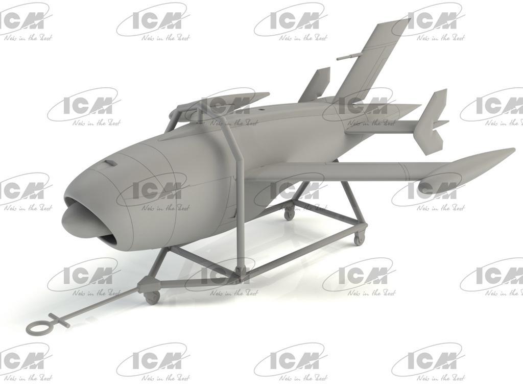KDA-1 (Q-2A) Firebee with trailer (Vista 3)