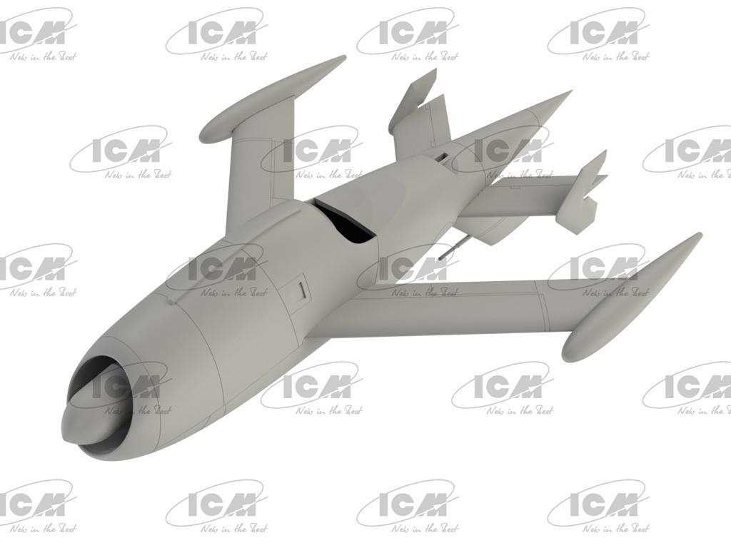 KDA-1 (Q-2A) Firebee with trailer (Vista 5)