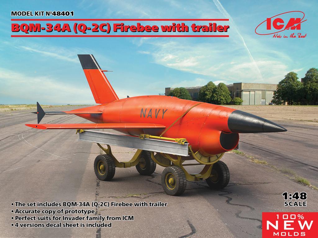 BQM-34A (Q-2C) Firebee with trailer (Vista 1)
