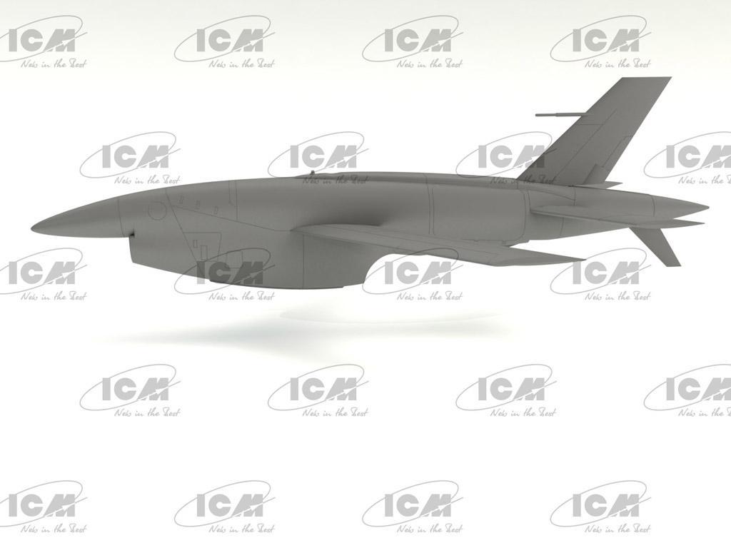 BQM-34A (Q-2C) Firebee with trailer (Vista 2)