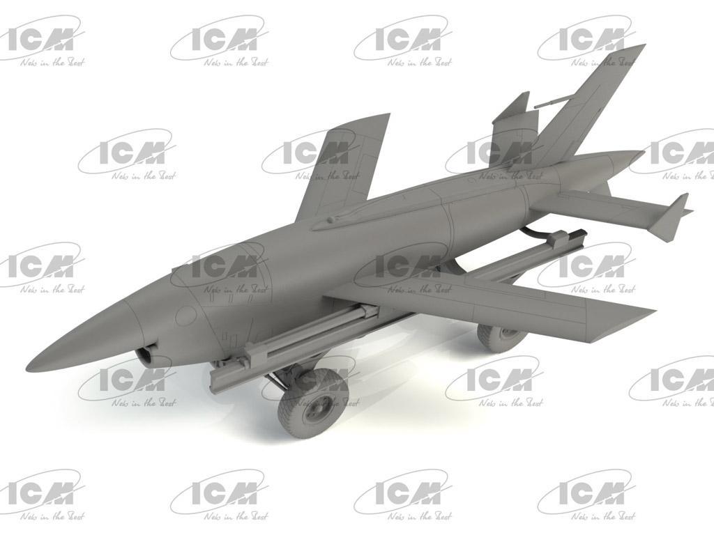 BQM-34A (Q-2C) Firebee with trailer (Vista 3)