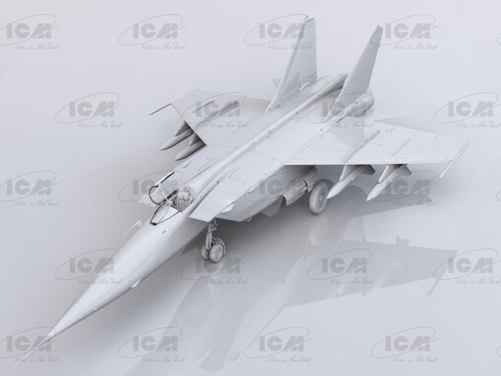 MiG-25 BM, Soviet Strike Aircraft (Vista 3)