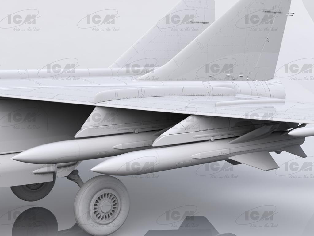 MiG-25 BM, Soviet Strike Aircraft (Vista 4)