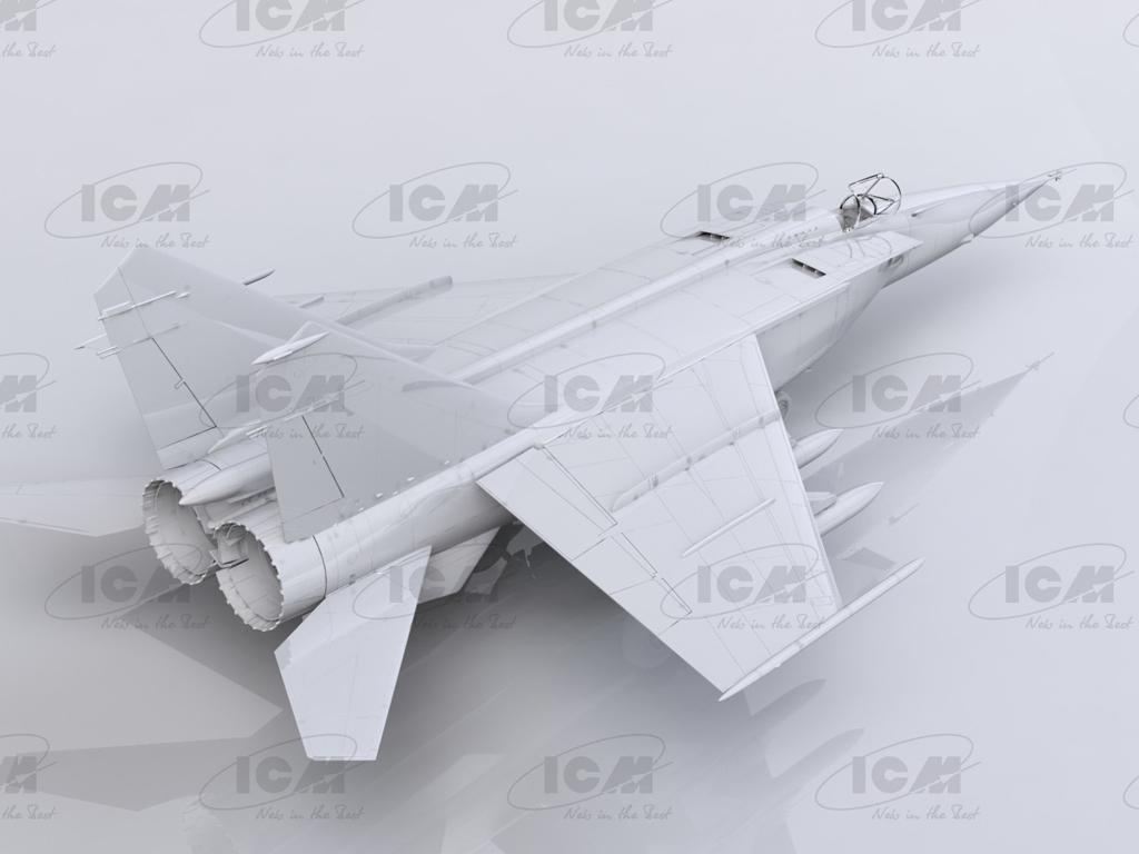 MiG-25 BM, Soviet Strike Aircraft (Vista 5)