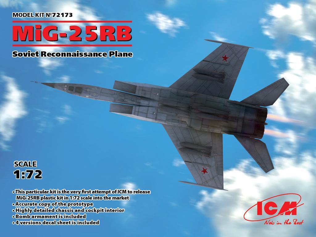 MiG-25 RB, Soviet Reconnaissance Plane (Vista 1)