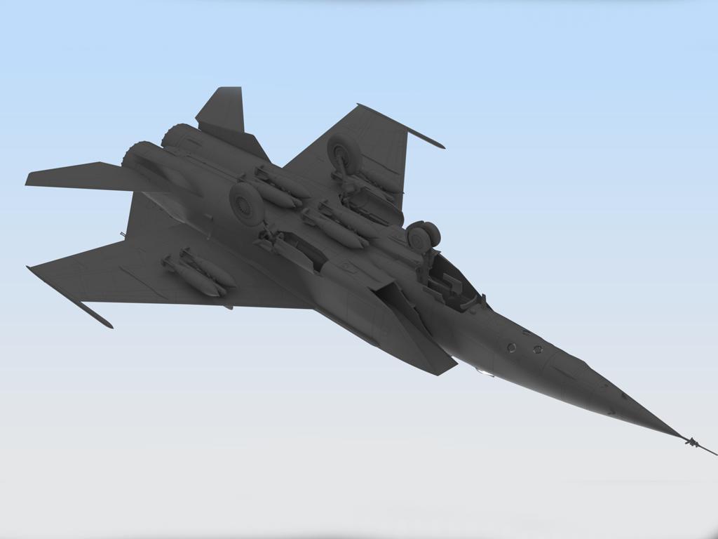 MiG-25 RB, Soviet Reconnaissance Plane (Vista 5)