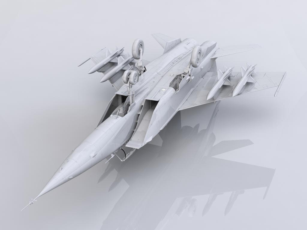 MiG-25 BM, Soviet Strike Aircraft (Vista 2)