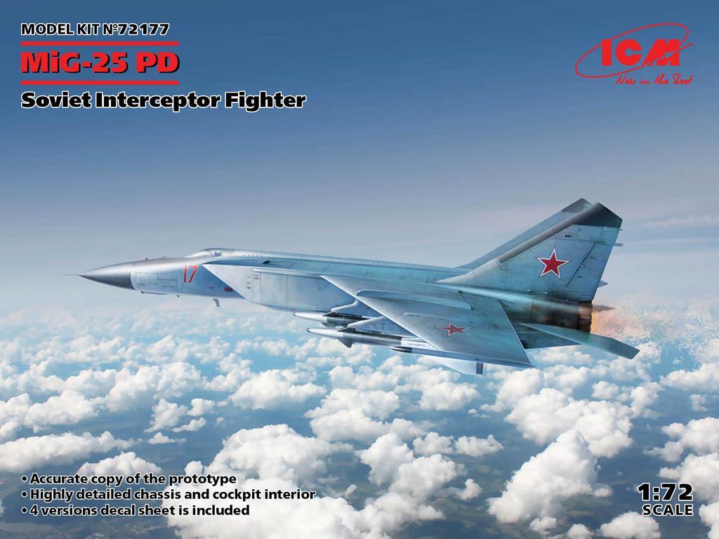 MiG-25PD, Soviet Interceptor Fighter (Vista 1)
