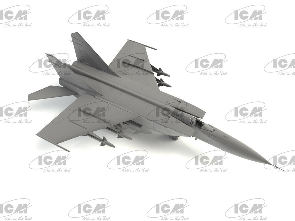 MiG-25PD, Soviet Interceptor Fighter (Vista 3)