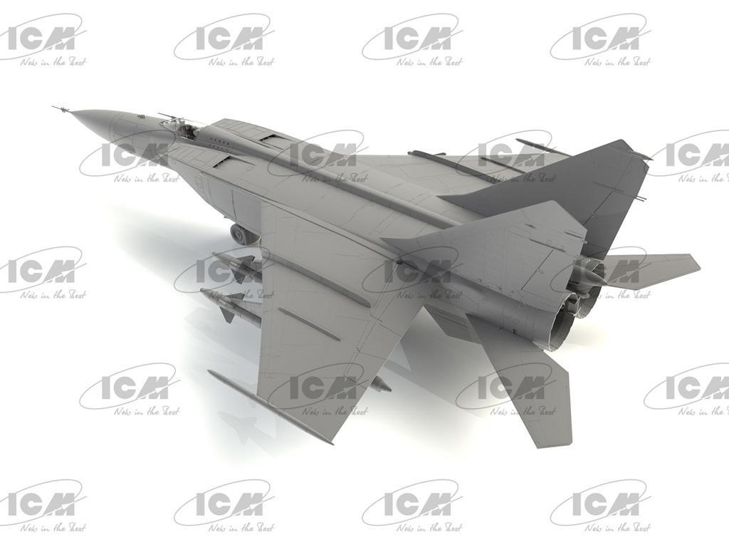 MiG-25PD, Soviet Interceptor Fighter (Vista 4)