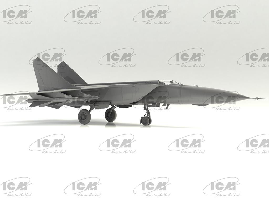 MiG-25PD, Soviet Interceptor Fighter (Vista 5)