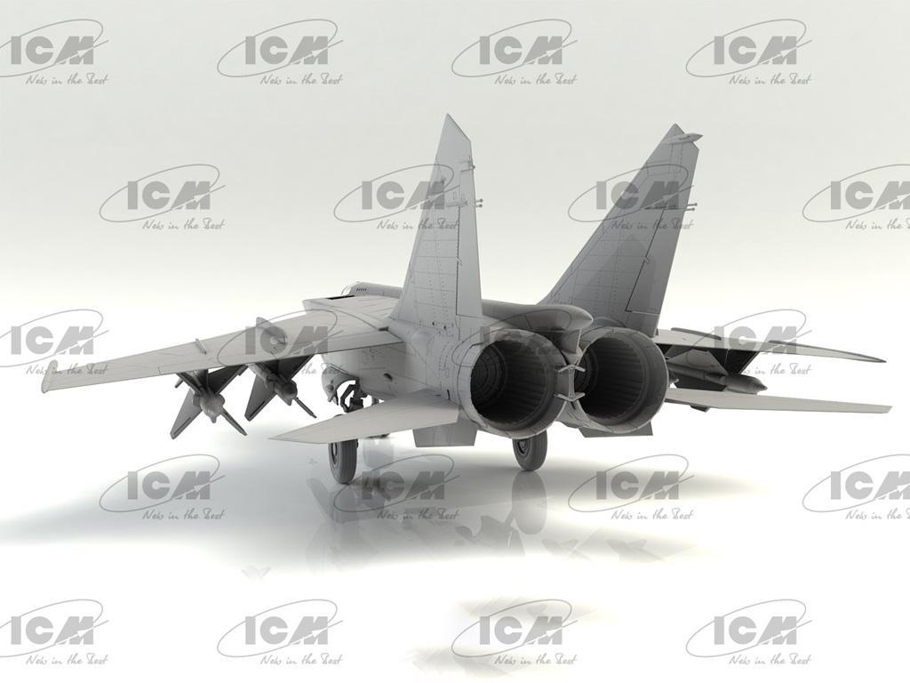 MiG-25PD, Soviet Interceptor Fighter (Vista 6)