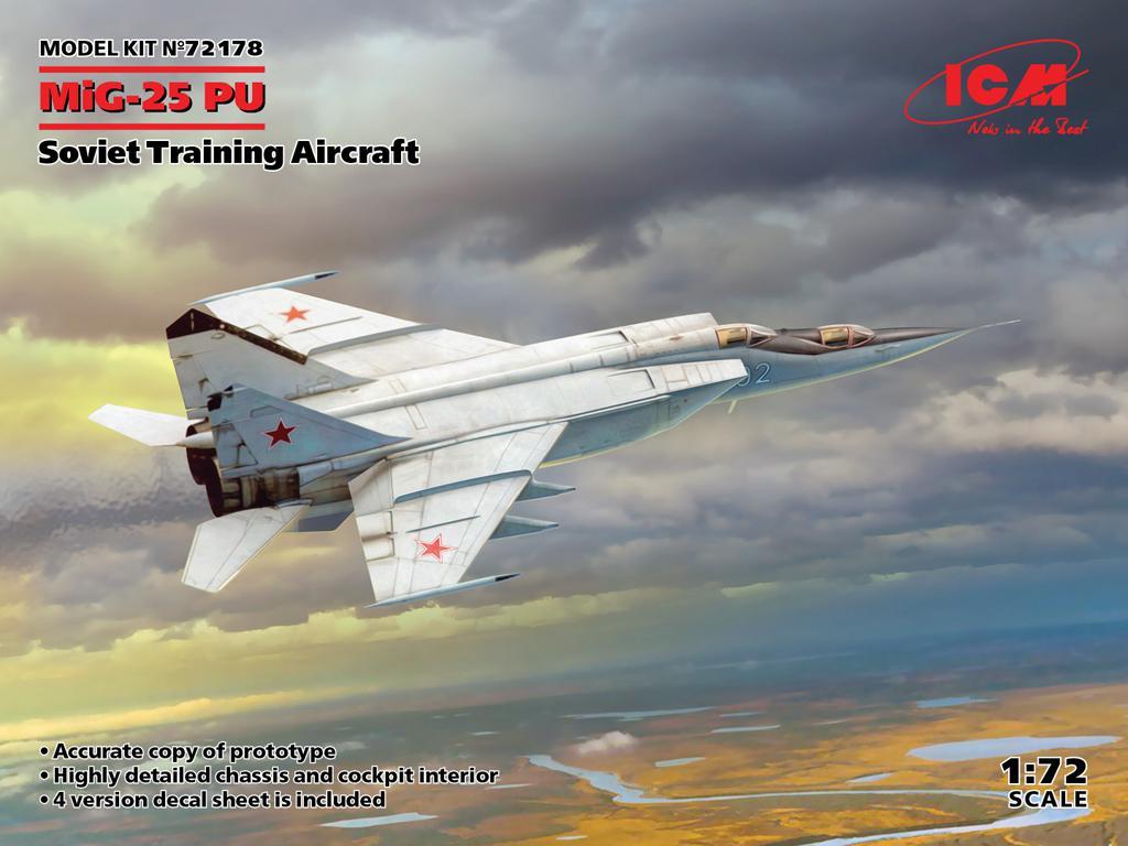 MiG-25PU, Soviet Training Aircraft (Vista 1)