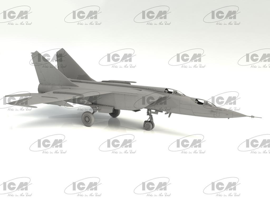 MiG-25PU, Soviet Training Aircraft (Vista 3)
