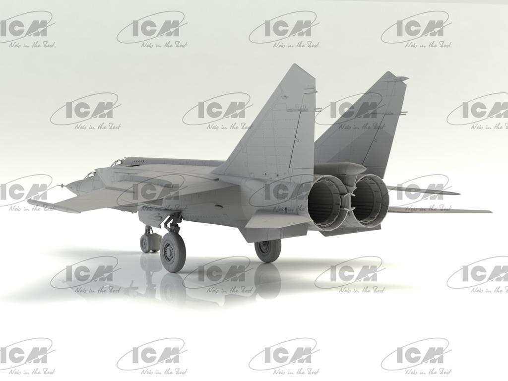 MiG-25PU, Soviet Training Aircraft (Vista 4)