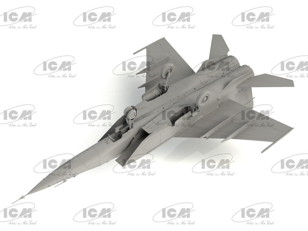 MiG-25PU, Soviet Training Aircraft (Vista 5)