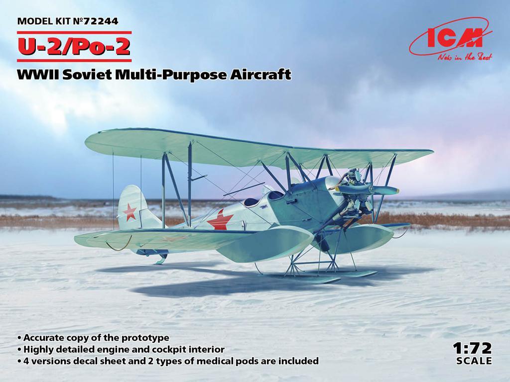 U-2/Po-2, WWII Soviet Multi-Purpose Aircraft (Vista 1)
