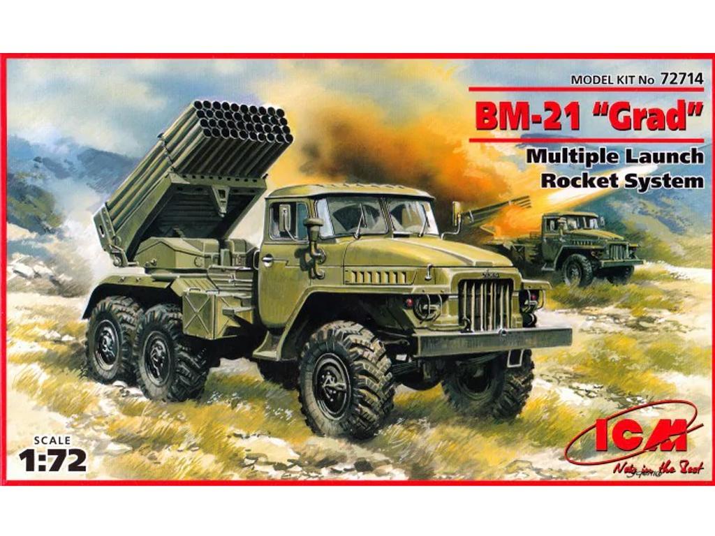 Lanzador de Misiles Multiple BM-21 (Vista 1)