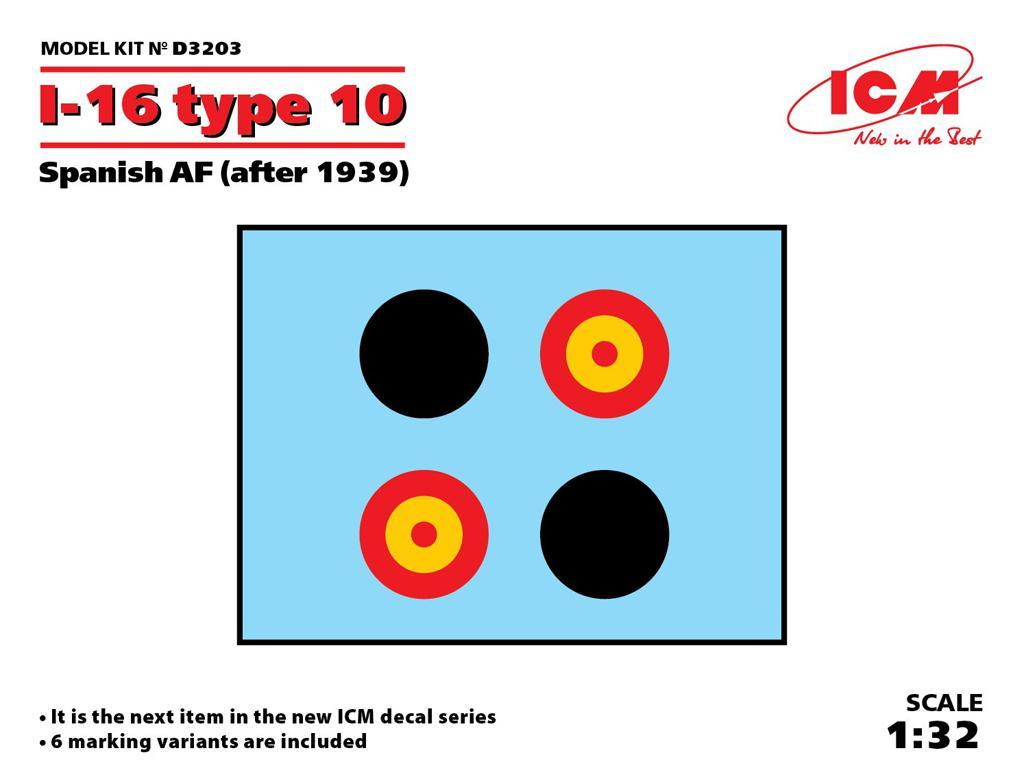 I-16 type 10 Spanish AF 1939 (Vista 1)