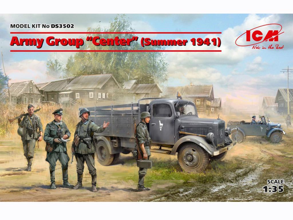 Grupo de Ejércitos Centro Verano de 1941 (Vista 1)