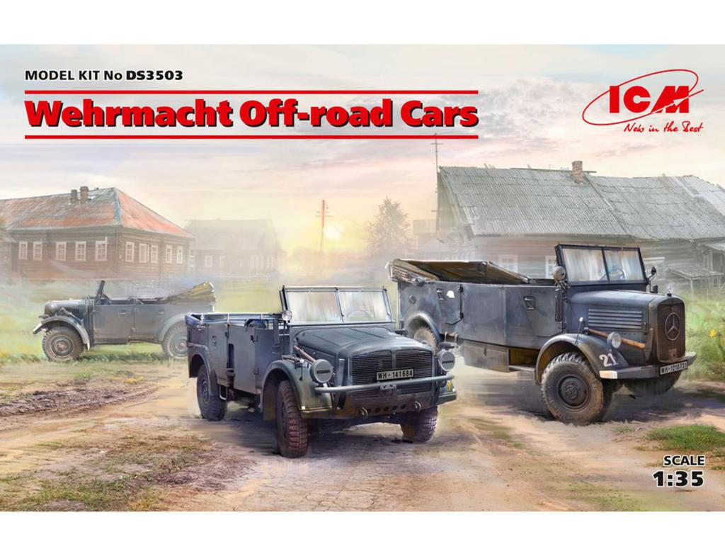 Coches todoterreno Wehrmacht (Vista 1)