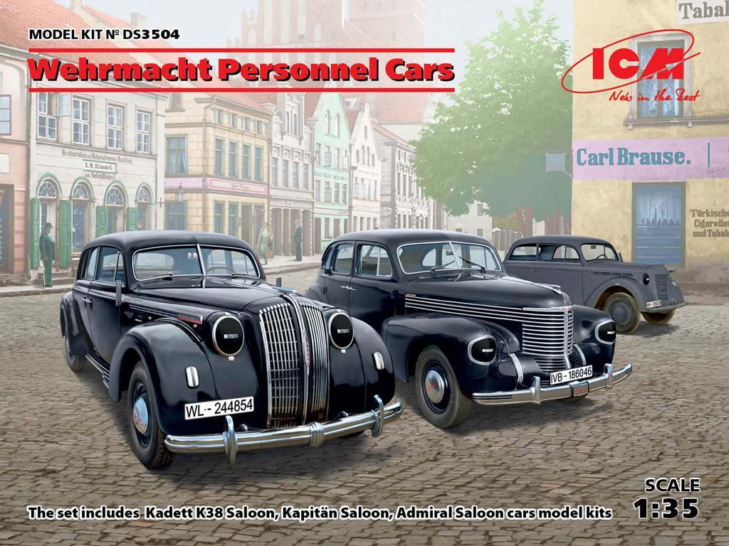 Automóviles de personal de la Wehrmacht (Vista 1)