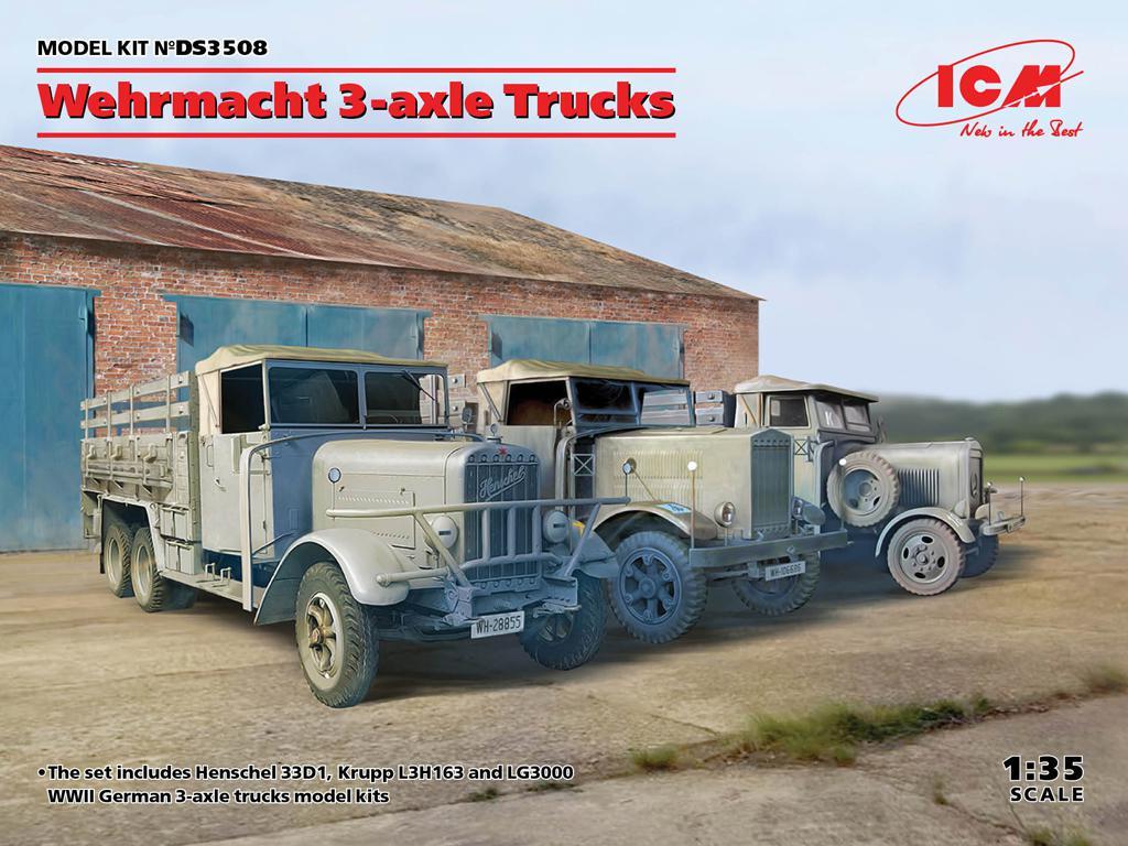 Camiones de la Wehrmacht 3 ejes (Vista 1)
