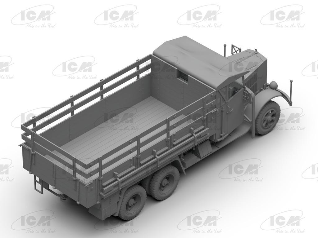 Camiones de la Wehrmacht 3 ejes (Vista 10)