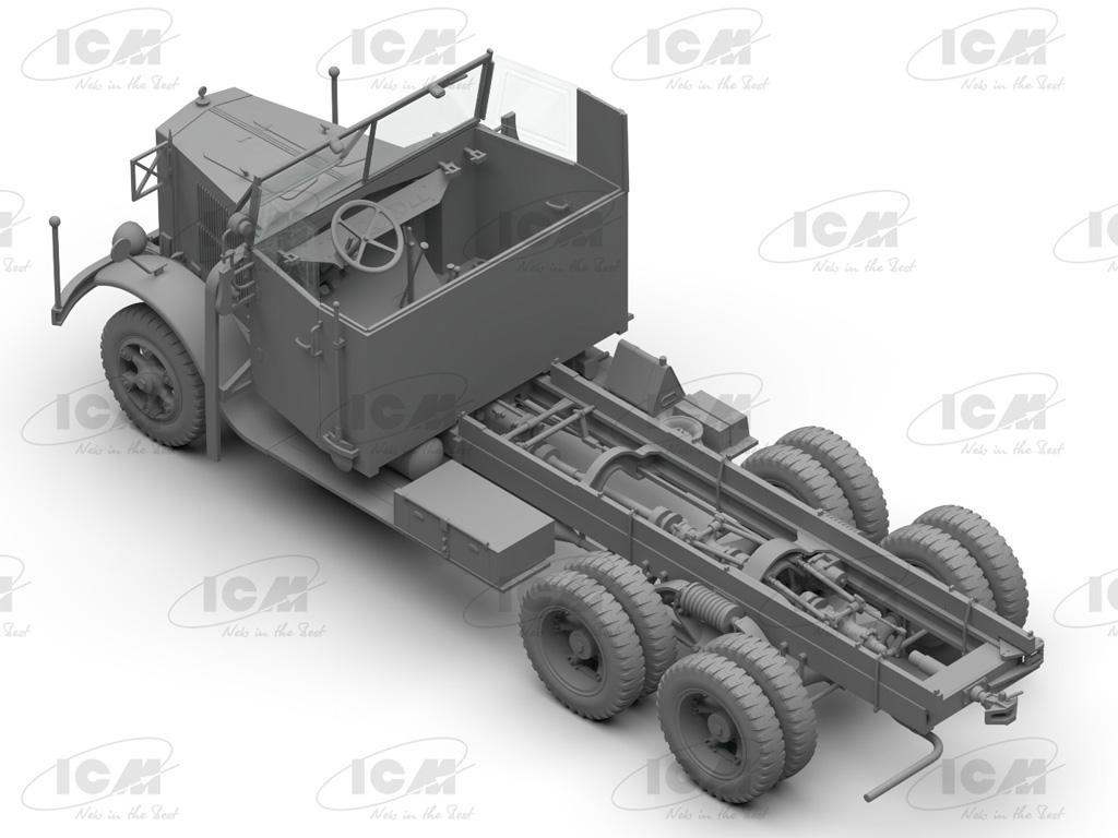 Camiones de la Wehrmacht 3 ejes (Vista 11)