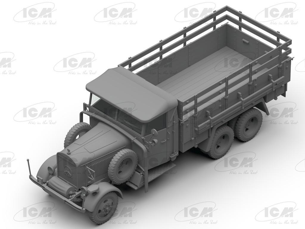 Camiones de la Wehrmacht 3 ejes (Vista 12)