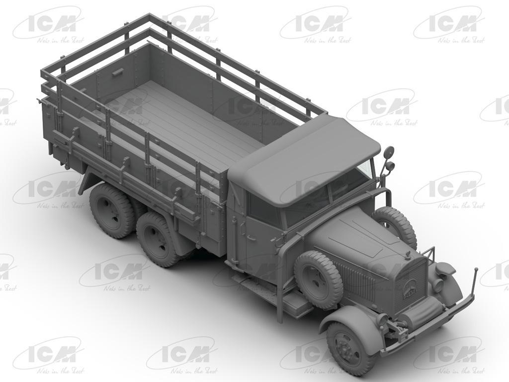 Camiones de la Wehrmacht 3 ejes (Vista 13)