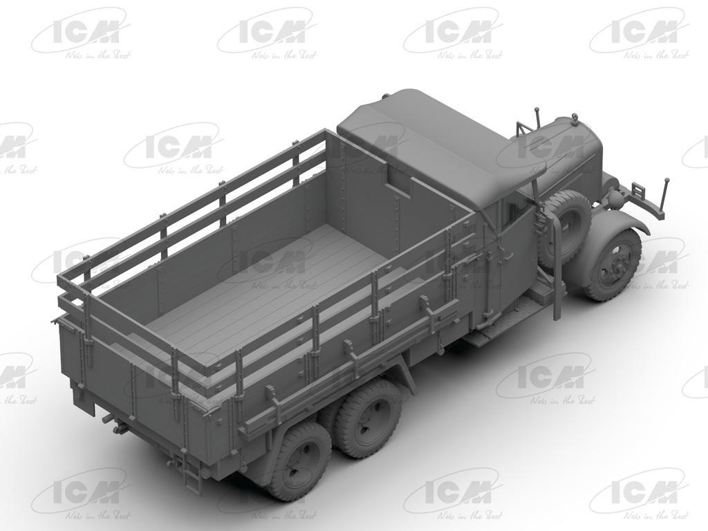 Camiones de la Wehrmacht 3 ejes (Vista 14)