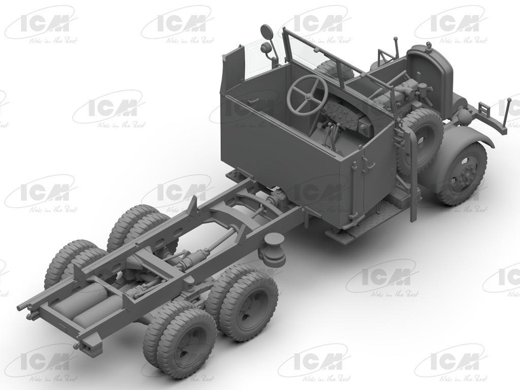 Camiones de la Wehrmacht 3 ejes (Vista 2)