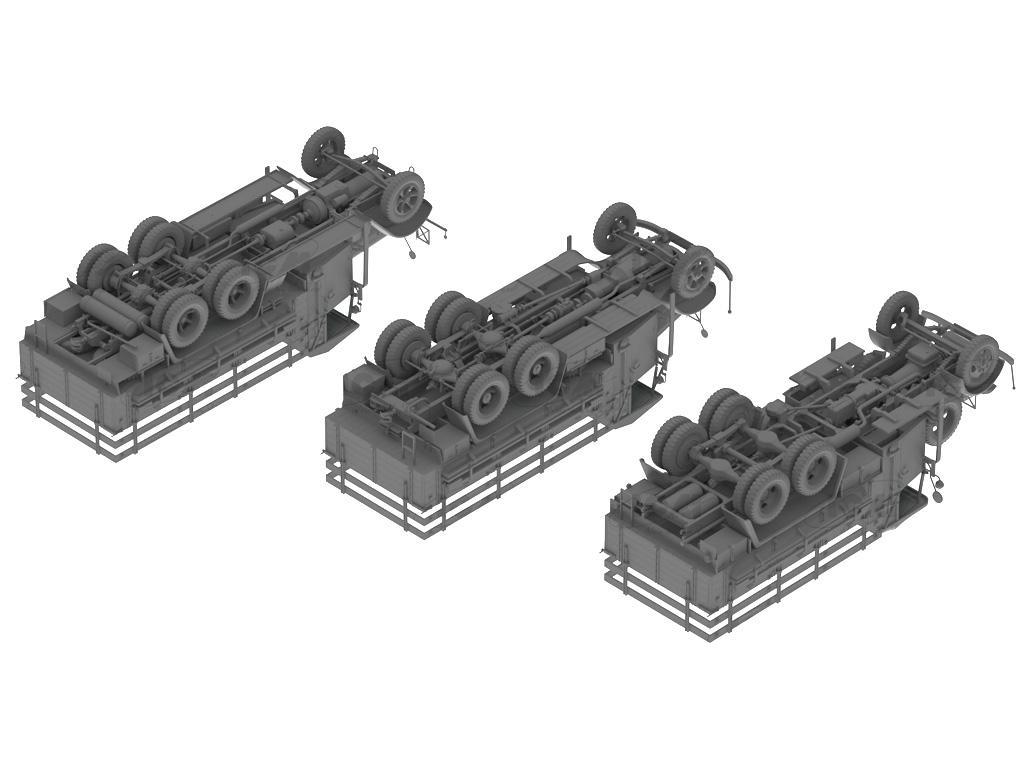 Camiones de la Wehrmacht 3 ejes (Vista 3)