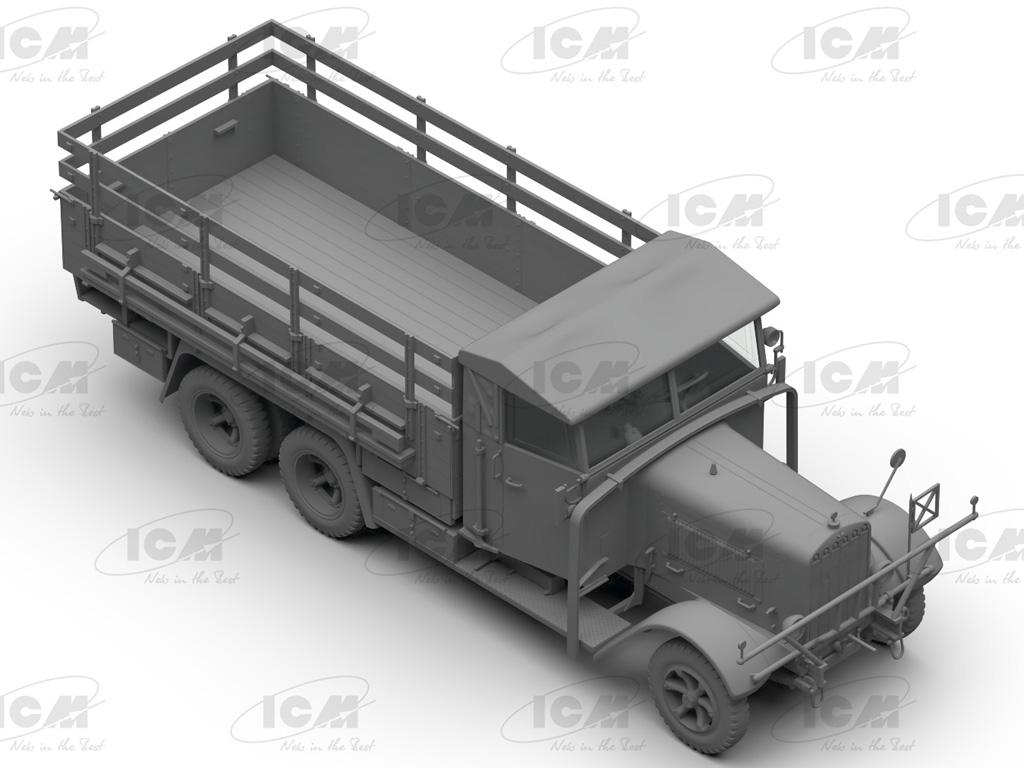 Camiones de la Wehrmacht 3 ejes (Vista 4)