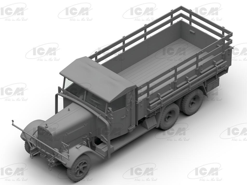 Camiones de la Wehrmacht 3 ejes (Vista 5)