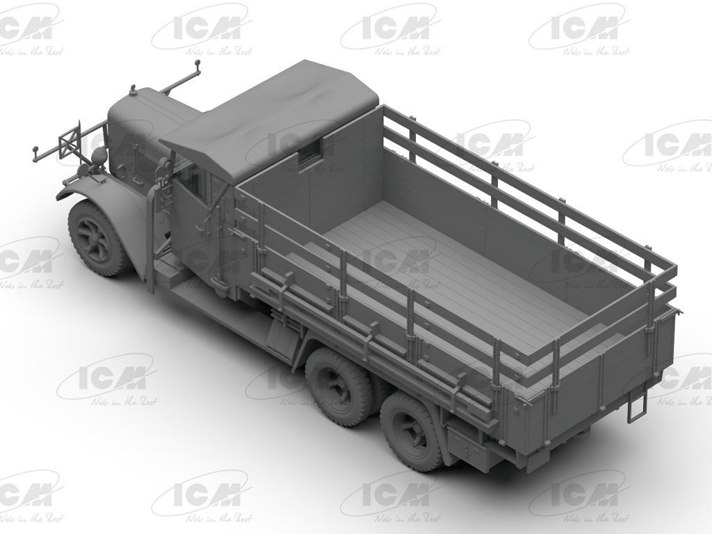 Camiones de la Wehrmacht 3 ejes (Vista 6)