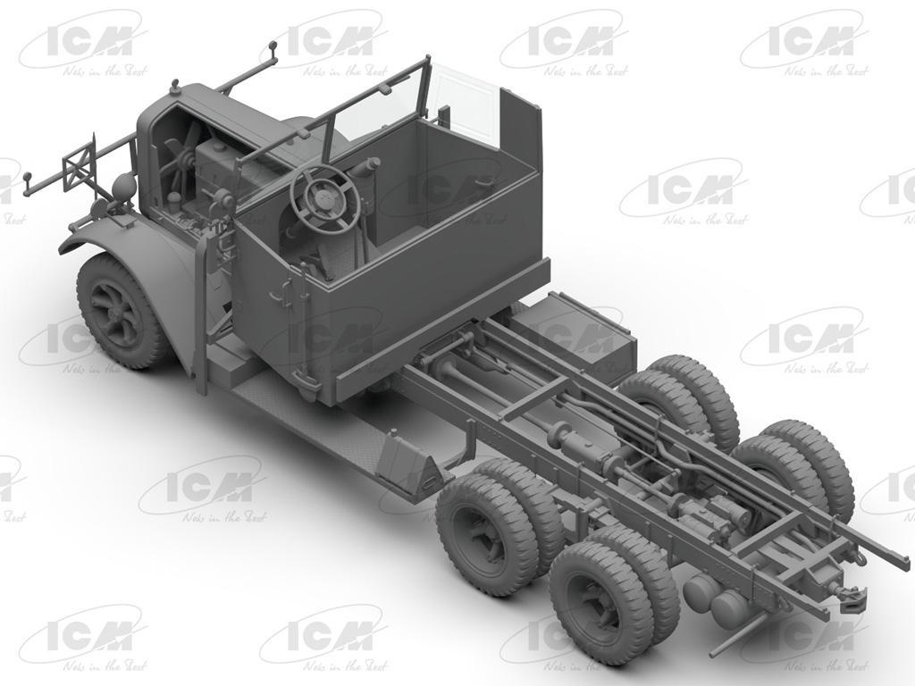 Camiones de la Wehrmacht 3 ejes (Vista 7)