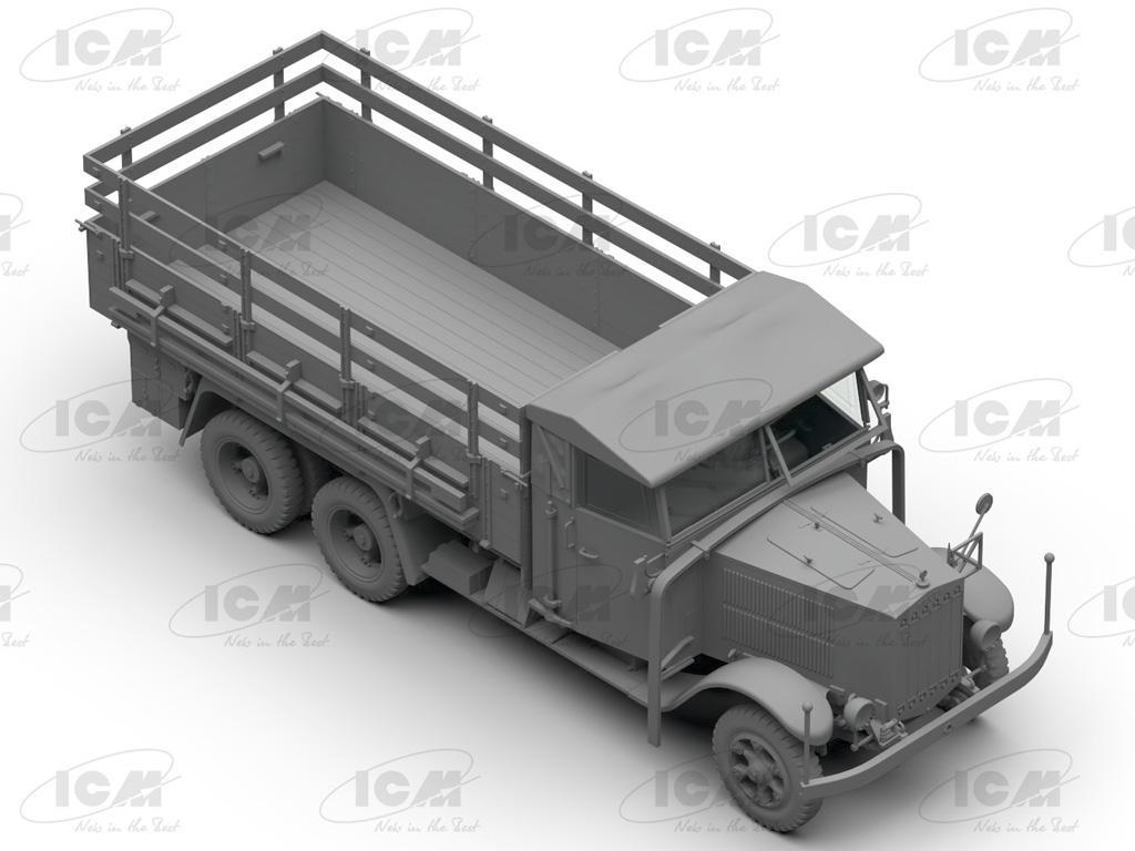 Camiones de la Wehrmacht 3 ejes (Vista 8)